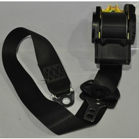 Genuine Holden Commodore VX WH Left Front Seat Belt (Height Adjustable) - Black