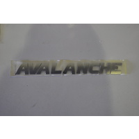 GENUINE HOLDEN COMMODORE HSV AVALANCHE BADGE VY VZ AWD WAGON