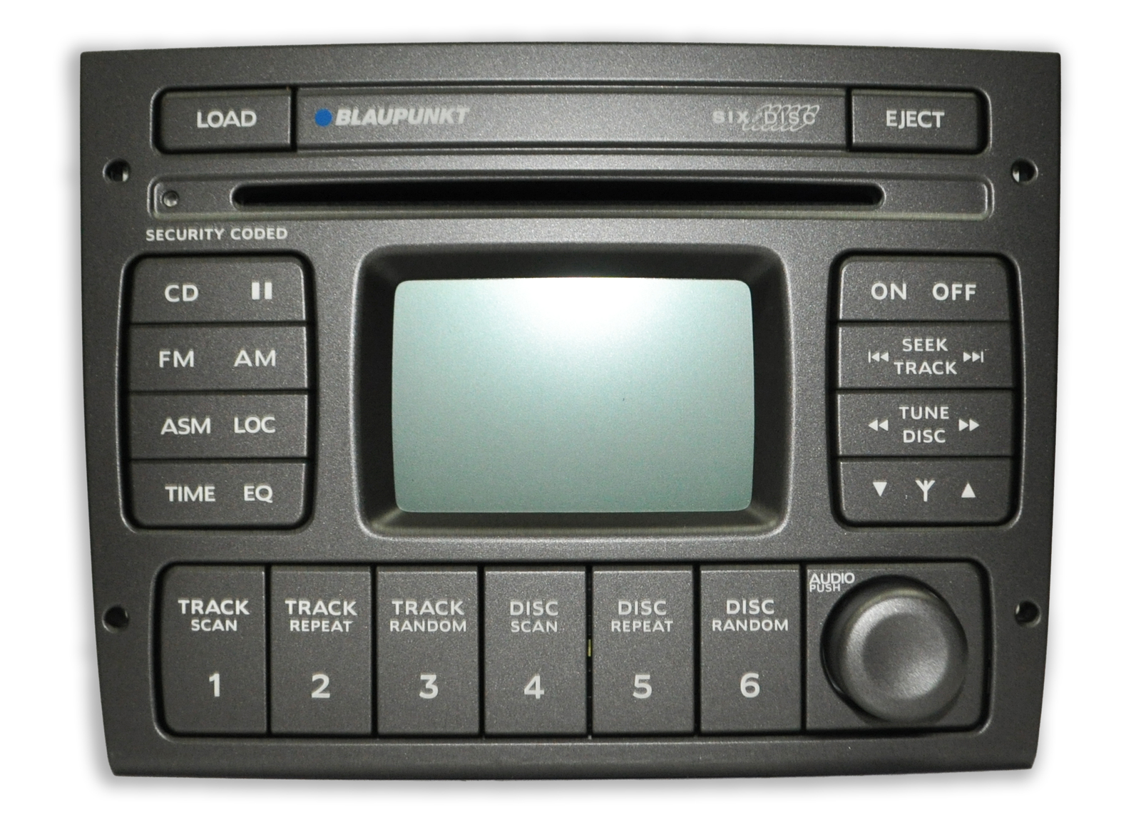 Blaupunkt Holden Commodore VY VZ 6 Stack Cd Radio W/Aerial Control