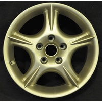 "Holden HSV VT Clubsport 5 Spoke Mag Alloy Wheel Rim 17x8"" Champagne Gold"
