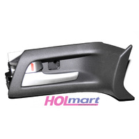 Holden VE Left Front Inner Door Handle Black/Silver