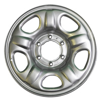 "Holden Steel Wheel RG Colorado 16x6.5"" Rim Silver 6 Stud GMH NEW"