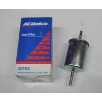 ACDelco Fuel Filter Holden Commodore VT VX VY V6 3.8L ACF90 ACF92 88930440