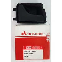 Holden VN VP VR VS Commodore Left Inner Door Handle (Black) GMH NOS