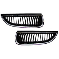 Holden VT Front Grille Set Berlina Series 1 Chrome / Black Commodore GMH
