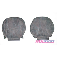 Holden VX Berlina Front Headrest Trim - Grey Pair