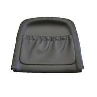 Holden Commodore VT VX Ser1 Right Front Seat Backing Panel & Map Pocket Grey. Wrap Around Type