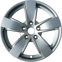 "Holden Commodore VY SS 17 X 8"" Alloy Mag Wheel Rim. Gloss Silver VR VS VT VX VZ"