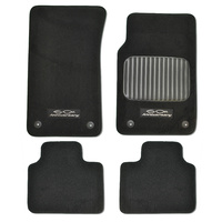 Holden Commodore VE 60th Anniversary Front & Rear Floor Mats Black Sedan / Wagon SS
