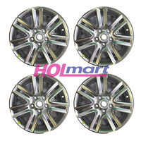 "Holden Alloy Mags Chevrolet VE VF Commodore Wheel Rims (Set X4) 17x7"" GM - Silver"