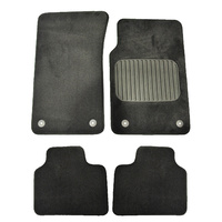 Holden Commodore VE Floor Mats Front & Rear Black Sedan/Wagon - Omega Berlina Calais SV6 SS