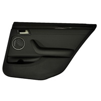 Holden WM Statesman Leather Right Rear Doortrim 92227066 Ser 2 2010-2012 Onyx Black