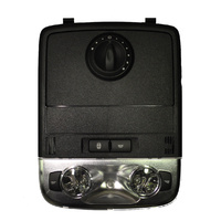 Holden VE Roof Map Interior Light W/ Sunglass Switch Dial - Black