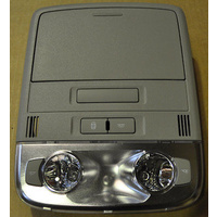 Holden Commodore VE II Front Roof Interior Light Sunglass Holder & Bluetooth Mic. Police Pack