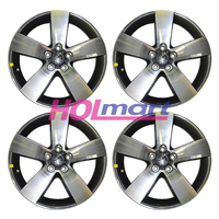 "Holden Alloy Mag Wheel VE SSV-Z Series 19X8"" Rims (Set X4) Grey with Polished Face"