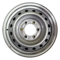 "Holden RG Coloradro 16 X 6.5"" Silver Steel Rim Wheel Only 6 Stud New"