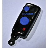 Suzuki 2 Button Key Remote Complete Transponder