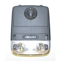Holden Chevy VE Export Front Roof Map Light with Sunroof Switch & Bluetooth Mic - Black