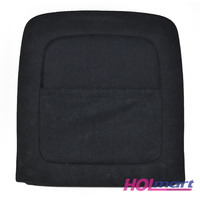Holden VF Front Seat Backing & Map Pocket Black Suede Felt Suit Left or Right WN