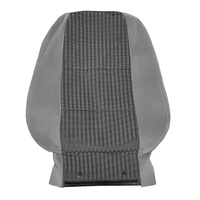 Ford BF XT Wagon Right Cloth Front Seat Upright Trim - Grey
