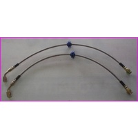 VB-VP (Ser1) Braided Brake Adaptor Hose, Sold As A Set (2)