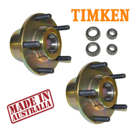 Holden Commodore Brake Hub VB VC VH VK VL VN VP VQ VG VT Disc Upgrade Adapters Pair X2