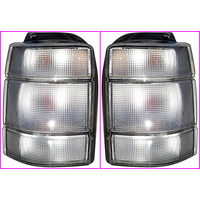 Holden VN VG VP VR VS Wagon Clear Tail Lights Pair
