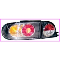 VR-VS SEDAN TAIL LIGHT (BLACK) SET OF 4