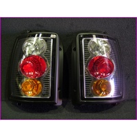 VN-VS UTE OR WAGON BLACK SPORTS TAIL LIGHTS PAIR (2)