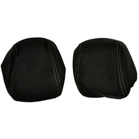 Holden HSV VE Maloo Front Seat Head Rests Pair Cloth