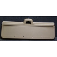 Holden Commodore VN Wagon Tail Gate Inside Cover (Plastic) Brand New (Light Creamy Brown)