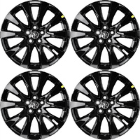 Holden Commodore VF Black HSV HSVI Baretta 20 X 8.5 Mag Wheel Rim With Centre Cap VE (Set X4) Sandman