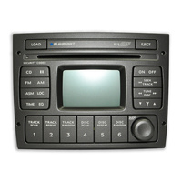 Blaupunkt Holden Commodore VY VZ 6 Stack Cd Radio W/Aerial Control Tempest Silver