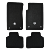 HSV VE Carpet Floor Mats E1 E2 E3 Front & Rear Black - Clubsport R8 Senator GTS