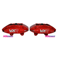 Holden HSV VE AP Racing 4 Pot Piston Front Brake Calipers & Pads RED GTS VXR Clubsport Senator