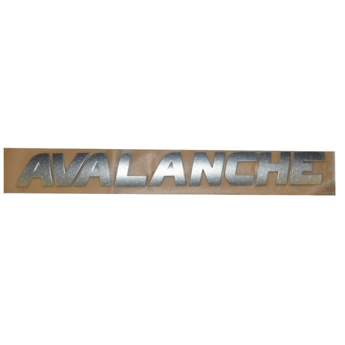 Holden HSV VY VZ AWD Avalanche Rear Lettering Badge